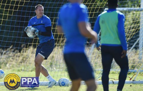 Ryan Clarke of Torquay United, Torquay United return to training at Seale Hayne training ground near Newton Abbot, Devon on July 01. - PHOTO: Sean Hernon/PPAUK